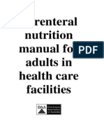 Parenteral Nutrition Manual September 2011