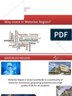 Why Invest in Waterloo Region?