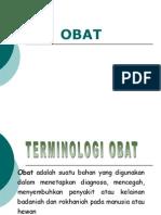 Terminologi obat