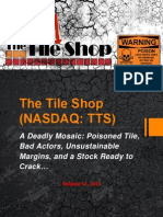 The Tile Shop - A Deadly Mosaic