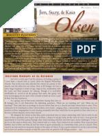 Olsen Newsletter October 2013