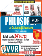 Philosophy by Dr Ambuj Srivastava 17 Years Teaching Experience