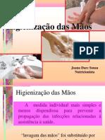 Higienizaçõa das Mãos 2013