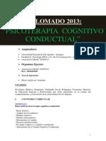 Publicidad - Psicoterapia Cognitivo Conductual 2013