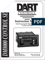 Dart Control DM8000Manual