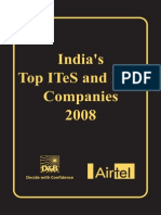India's Top ITeS and BPO Companies 2008