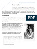 How Atatürk Made Turkey Secular