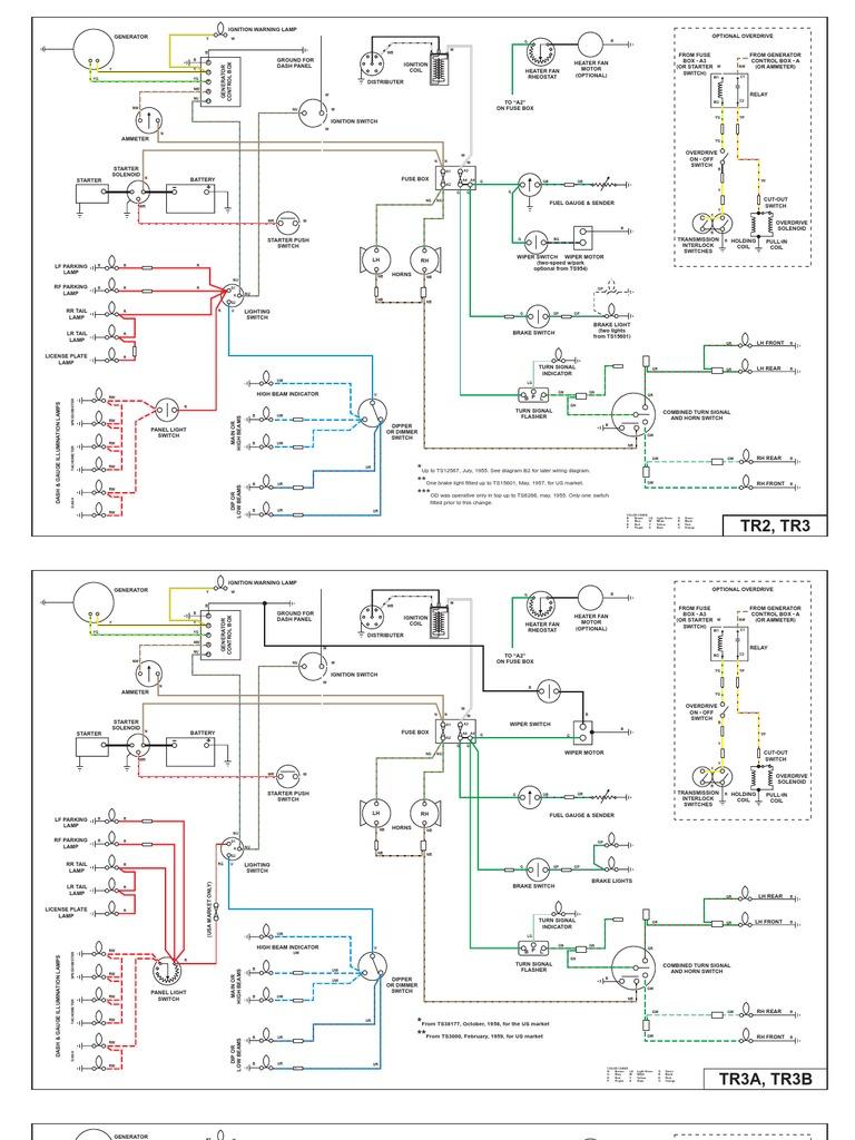 Swell Triumph Tr4 Wiring Diagram Wiring Library Wiring Digital Resources Anistprontobusorg