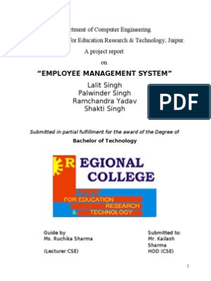 Employee Management System | My Sql | Control Flow