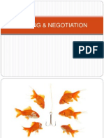 Seliing and Negotiation