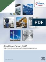 Infineon - Short Form Catalog - 2013