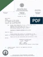 NJ AG Letter on Same-sex Marriage Ruling