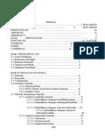 Pembuatan Tes Kit Sianida Berdasarkan Reaksi Oksidasi Benzedin (Daftar Isi)