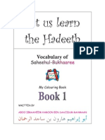 17608789 Learning Hadith Vocabulary of Bukhari for Kids