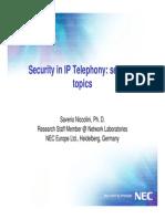 IP Telephony Security Xem