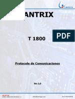 Modulo de Comunicaciones t1800_ver_1.0