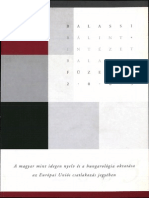 A magyar mint idegen nyelv és a hungarológia oktatása az Európai Uniós csatlakozás jegyében