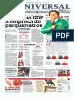 Portadas Medios Nacionales Lunes 21 Oct 2013