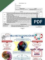 SESIÓN  PPA 01-LA METACOGNICIÓN