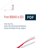 From BS5950 to EC3