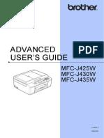 Cv Mfc430w Use Ausr