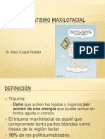 Trauma maxilo facial 2013.ppt