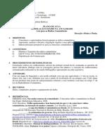 Plano de aula - LEGISLAÇÃO E RÁDIO NA ATUALIDADE