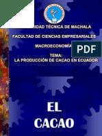 Producción de Cacao en el Ecuador
