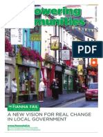 Empowering Communities - FF Proposals on Local Government Reform