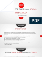 40 Ideas for Your Social Media Plan
