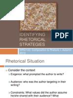 Rhetorical Strategies AQ2013