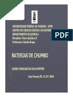 m1 Baterias de Chumbo - Ronaldo Da Silva Pontes