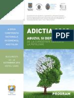 ADICTIA 2013 - Lucrari Stiintifice Si Postere