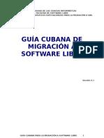 Guia Cubana ( Migracion a Software Libre)