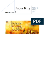 Praise and Prayer Diary