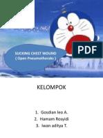 Ppt Open Pneumothoraks