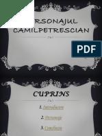 Personajul Camilpetrescian