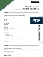 Algoritma dan Pemrograman - Latihan 01-11 [www.alonearea.com].doc