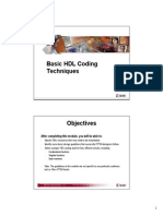 Basic HDL Coding Tech