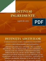 Aditivi Si Ingrediente1