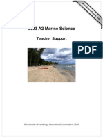 9693 Marine Science A2 Teacher Support