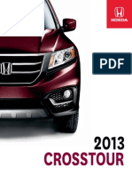 Crosstour Brochure en 2013 Interactive