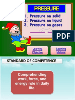 Pressure on Gases