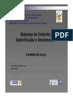 Sistemas de Controle - NORMA IEC 61131