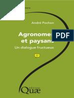 POCHON Agronomes Et Paysans