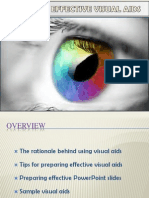 Visual Aids-Types,Design and Delivery