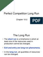Perfet Long Run