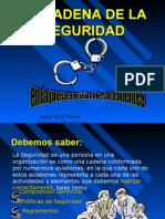 Cadena de Seguridad en La Prevencion de Accidentes