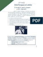 RO_Guide for Companies-Portofoliul European al Limbilor