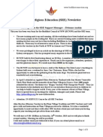 SRE Newsletter (Issue 2, 2013)